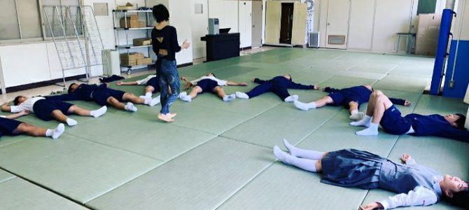 狛江市立狛江第三中学校朝ヨガ三期スタートしました!